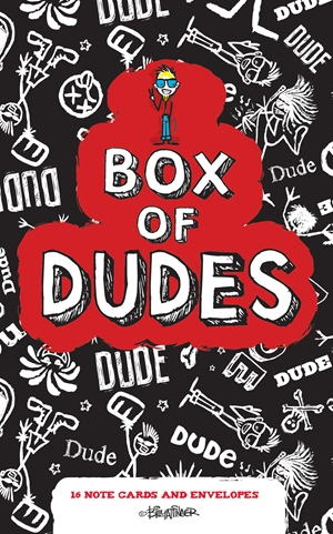 Box of Dudes Note Cards
