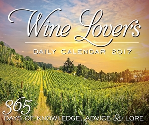 Wine Lover's Daily Calendar 2017
