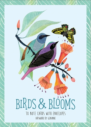 Birds & Blooms Artwork By Geninne
