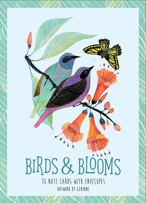 Birds Blooms Artwork By Geninne