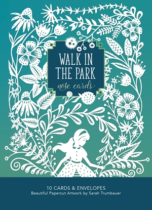 Walk in the Park Note Cards