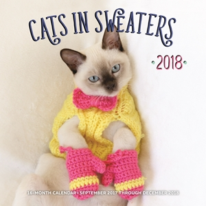 Cats in Sweaters 2018