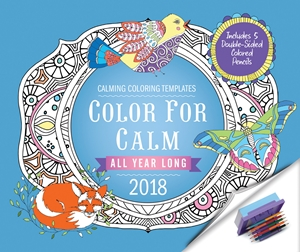 Color for Calm All Year Long 2018