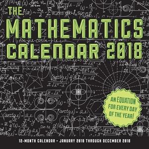 The Mathematics Calendar 2018