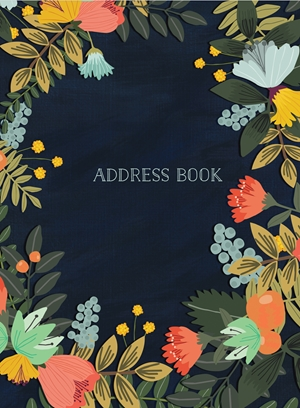 Address Book - Modern Floral Small