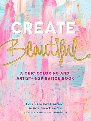 Create Beautiful Oliver Gal Drawing & Creativity Book