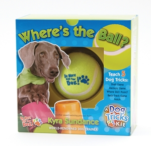 Where's the Ball, A Dog Tricks Kit