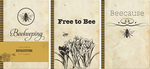 Beekeeping Blank Notebooks