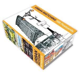 Urban Sketching: 100 Postcards