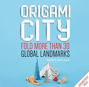 Origami City Fold More Than 30 Global Landmarks - Origami Paper Inside