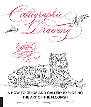 Calligraphic Drawing A how-to guide and gallery exploring the art of the flourish