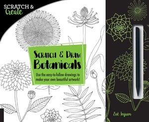 Scratch & Create: Scratch and Draw Botanicals