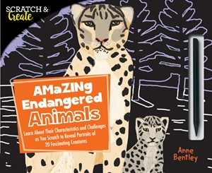 Scratch & Create: Amazing Endangered Animals