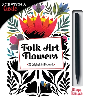 Scratch & Create Folk Art Flowers