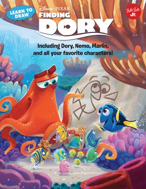 Learn to Draw Disney Pixar's Finding Dory