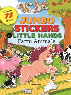 Jumbo Stickers for Little Hands: Farm Animals