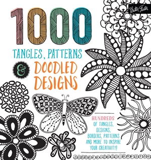 1,000 Tangles, Patterns & Doodled Designs