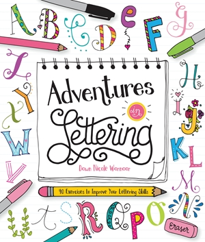 Cover of Adventures in Lettering 9781633221734