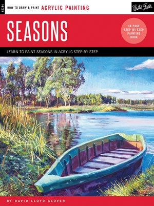 Acrylic: Seasons Learn to paint step by step