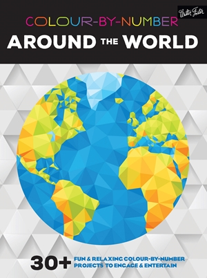 Colour-by-Number: Around the World