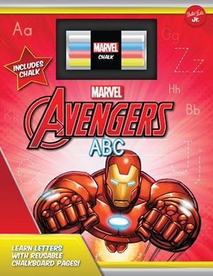 Marvel's Avengers Chalkboard ABC