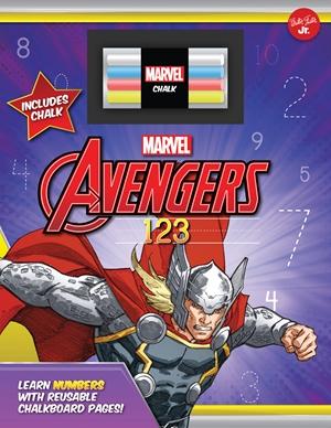 Marvel's Avengers Chalkboard 123