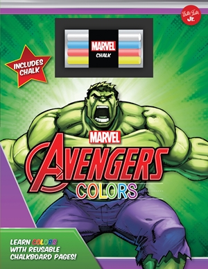 Marvel's Avengers Chalkboard Colors