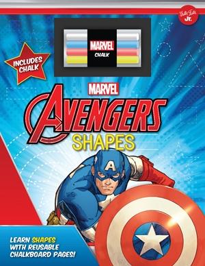 Marvel's Avengers Chalkboard Shapes
