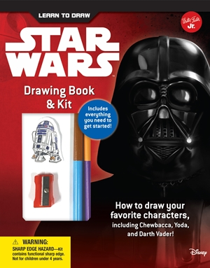Learn to Draw Star Wars Drawing Book & Kit