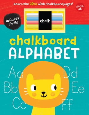 Chalkboard Alphabet Learn the ABCs with chalkboard pages!