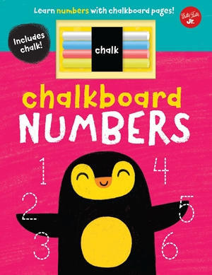 Chalkboard Numbers Learn numbers with chalkboard pages!