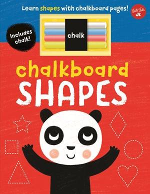 Chalkboard Shapes Learn shapes with chalkboard pages!