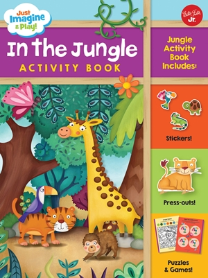 Just Imagine & Play! In the Jungle Activity Book