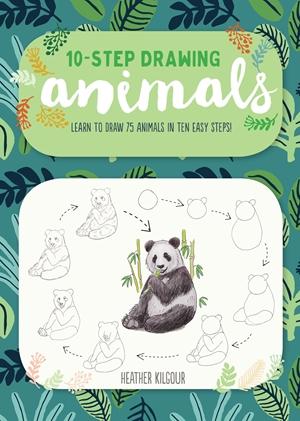 10-Step Drawing: Animals