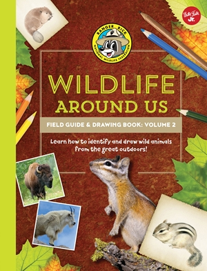 Ranger Rick's Wildlife Around Us Field Guide & Drawing Book: Volume 2