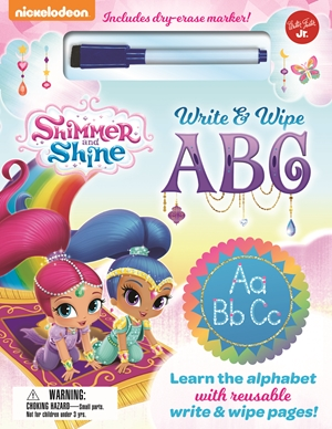 Nickelodeon's Shimmer and Shine Write & Wipe ABC