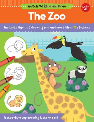 Watch Me Read and Draw: The Zoo