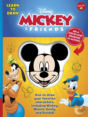 Learn to Draw Disney Mickey & Friends