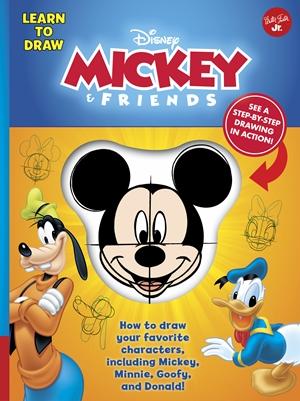 Learn to Draw Disney Mickey & Friends