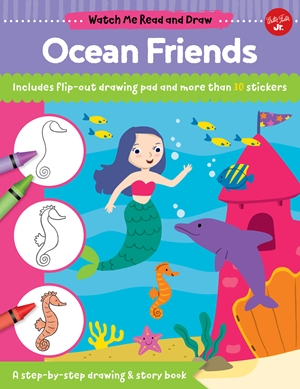Watch Me Read and Draw: Ocean Friends