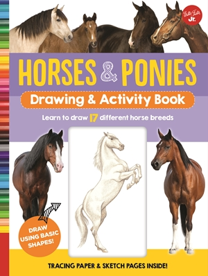 Horses & Ponies Drawing & Activity Book