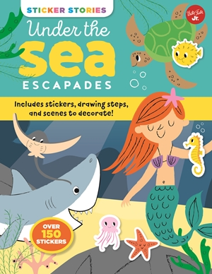 Sticker Stories: Under the Sea Escapades