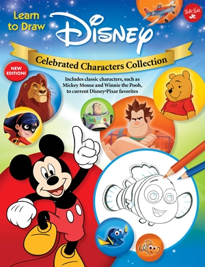 Learn to Draw Disney Celebrated Characters Collection