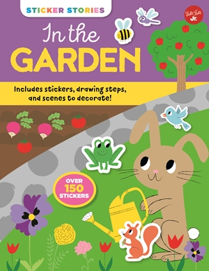 Sticker Stories: In the Garden