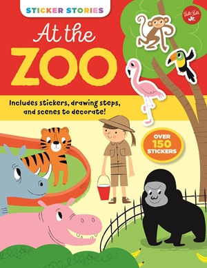 Sticker Stories: At the Zoo