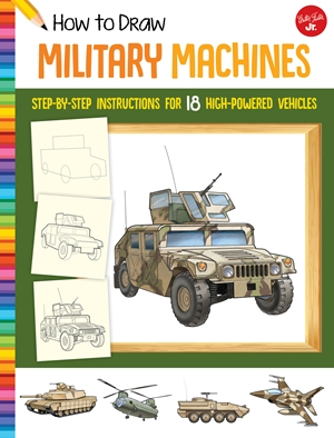 How to Draw Military Machines
