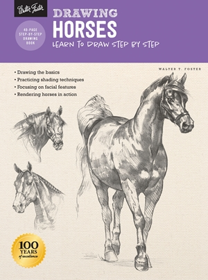 Drawing: Horses Learn to draw step by step