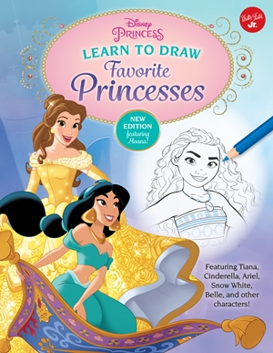 Learn to Draw Disney Favorite Princesses
