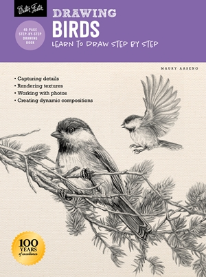 Drawing: Birds Learn to draw step by step