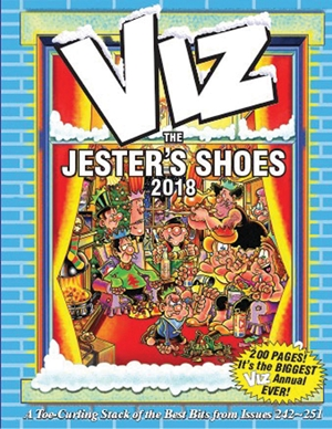 Viz Annual The Jester's Shoes 2018